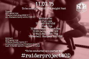 raider wod